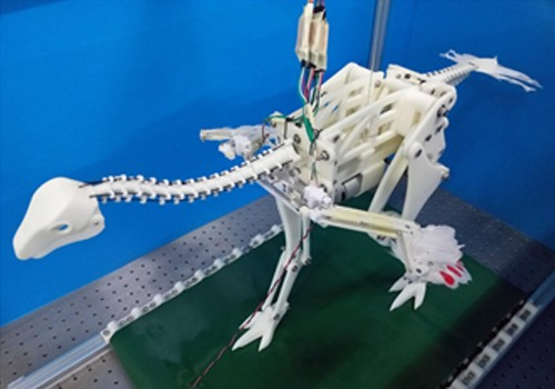 Life-size robo-dinosaur and ostrich backpack hint at how first birds got off the ground