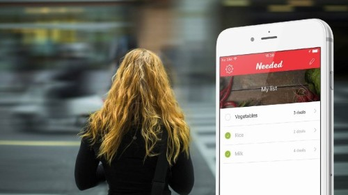 Needed's smarter shopping app will find you the best nearby deals