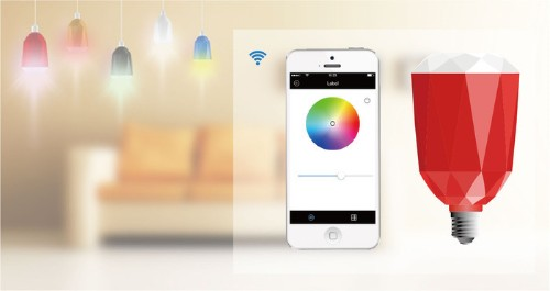 Can A Lightbulb Make For A Great Multi-Room Wireless Speaker? Meet The Whome Bulb