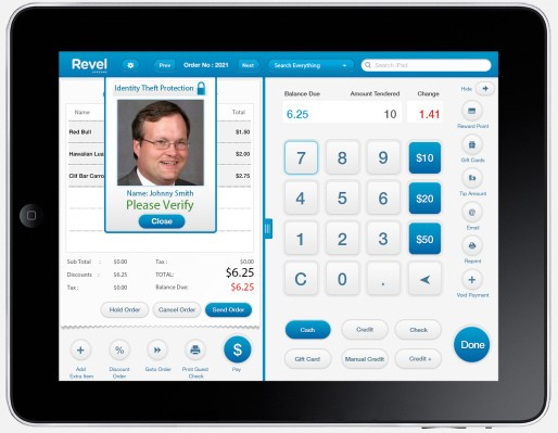 Revel Adds Photo-Based Identity Theft Prevention To Its iPad Point-Of-Sales System