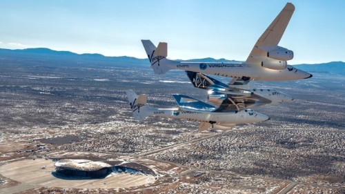 Virgin Galactic relocates SpaceShipTwo 'VSS Unity' to its spaceport for preparations ahead of commercial flights – TechCrunch