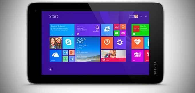 Toshiba's Encore Mini Tablet Runs Windows 8.1 And Is Just $119