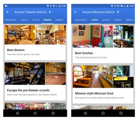 Google Maps Adds Curated Restaurant Recommendations In NYC, San Francisco And London