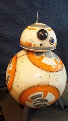 Bask, Friends, In The Glory Of A Full-Sized, 3D-Printed BB-8