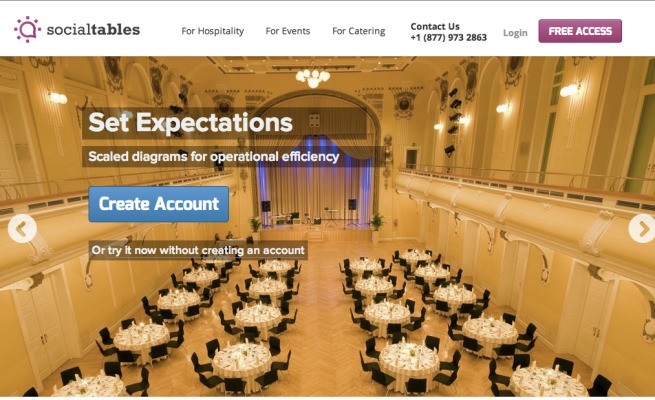 Social Tables Seating Arrangement Software Lands $1.6M Equity Round Led By Militello Capital