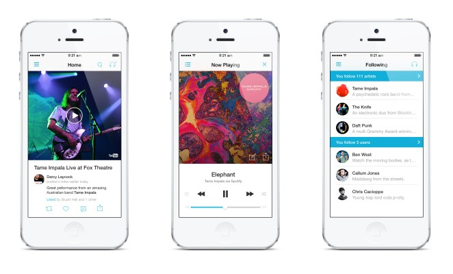 Discovr Delivers Total iOS 7 Overhaul For Its Music Discovery App With Streaming And Social Features