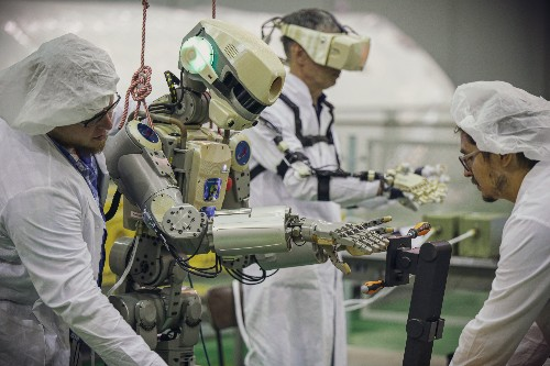 Russian humanoid robot makes its way to the International Space Station