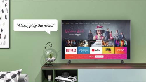 Amazon is rolling out a news aggregation app for Fire TV and tablets