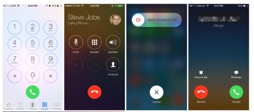 "With Release Of iOS 7.1 Beta 3, Apple Favors Circular Buttons, Changes To Phone & ""Power Off"" Screens"