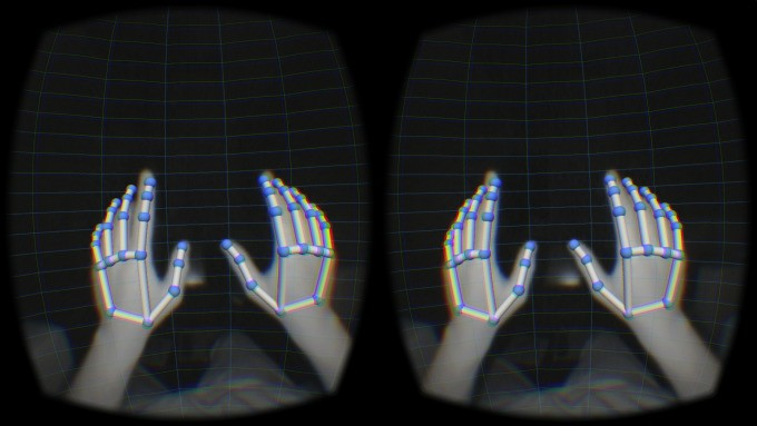 Leap Motion Is Bringing Hand Tracking To The OSVR Headset In May