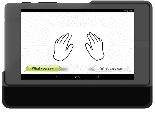 MotionSavvy Is A Tablet App That Understands Sign Language