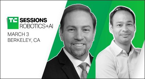 TRI-AD's James Kuffner and Max Bajracharya are coming to TC Sessions: Robotics+AI 2020