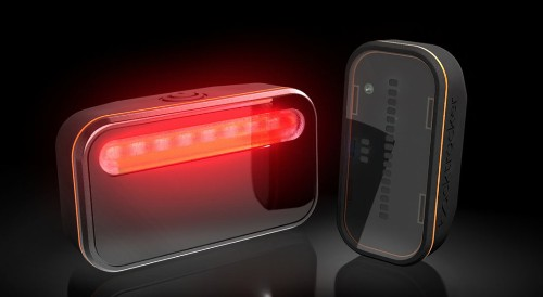 Backtracker Helps Bikers Keep From Being Rear-Ended