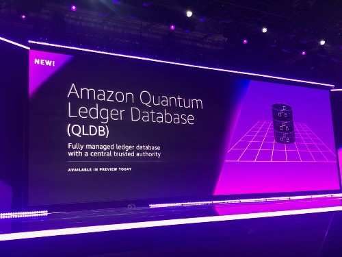 Amazon gets into the blockchain with Quantum Ledger Database & Managed Blockchain