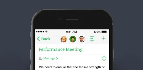 "Evernote Rolls Out Its New ""Work Chat"" Feature"
