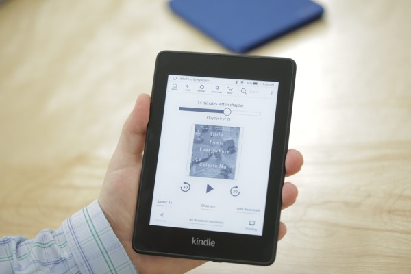 The new Kindle Paperwhite is thinner and waterproof