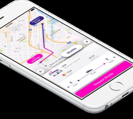 Lyft Shuttle is an experimental new Lyft Line feature that works like a bus route