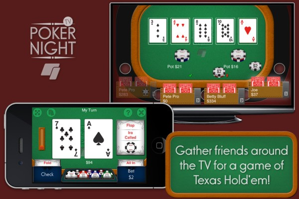 Splitmo's Poker Night TV Offers A Perfect Use Case For Apple TV As A Gaming Device