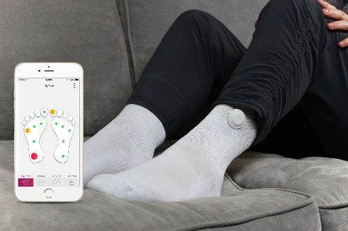 Siren Care weaves electronics into fabric to keep diabetic patients healthy