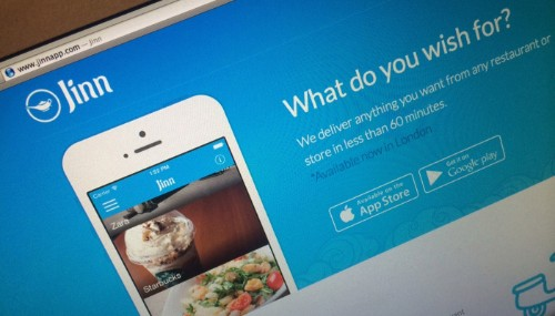 London Startup Jinn Raises $200K Seed Round For Local On-Demand Delivery App