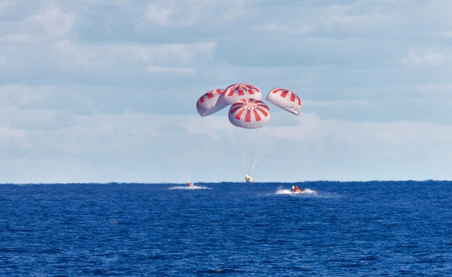 Watch SpaceX's Crew Dragon splash down in the Atlantic Ocean live as astronauts return to Earth