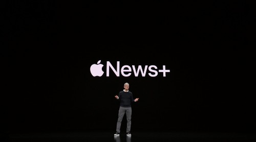 Apple unveils its $9.99 per month news subscription service, Apple News+