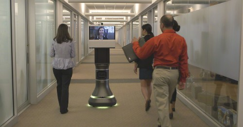 iRobot And Cisco Build A Roving Telepresence Rig So Remote Workers Can Still Roam The Office
