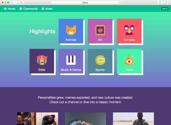 Twitter just can't let go of Vine, launches an online archive