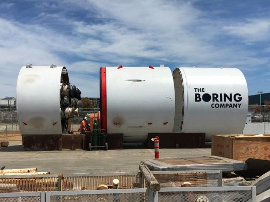 Elon Musk suggests L.A. Mayor open to Boring Co. tunnel network