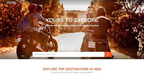 Klook Lands $1.5M To Help Travelers Find Activities Across Asia