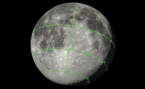 NASA shares 3D Moon data for CG artists and creators