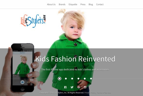 """""""Fashion Inspiration"""" For Tots: Lil'Stylers Wants Parents To Snap & Share Their Kids' Best Looks"""