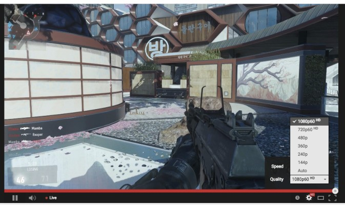 YouTube Live Streams Get HTML5 Player And Now Support 60FPS Playback