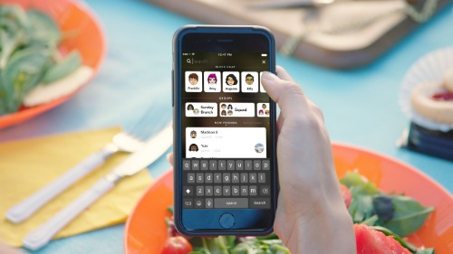Snapchat's big redesign, featuring universal search and more, just hit iOS