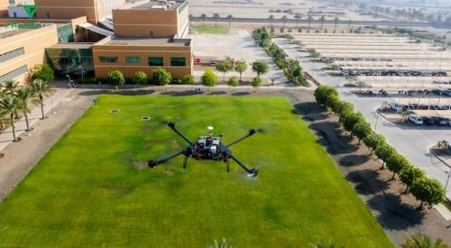 Tech Blooms In The Saudi Desert As Aerial Scanning Startup FalconViz Takes Flight