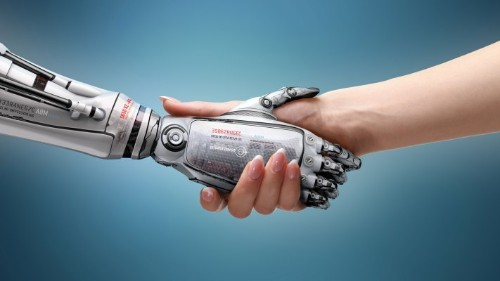 The assimilation of robots into the workforce as peers, not replacements