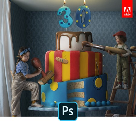 Adobe celebrates Photoshop's 30th anniversary with new desktop and mobile features – TechCrunch