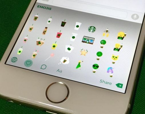 Starbucks launched its own keyboard app so you can text emojis of unicorns drinking coffee