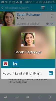 After Killing Intro For iOS, LinkedIn Gets Deep Integration On Mobile Via Samsung Partnership