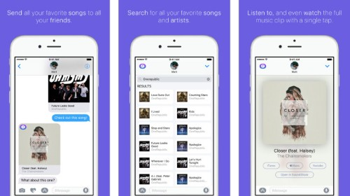 SoundShare's new iMessage app lets you text your friends entire songs – TechCrunch