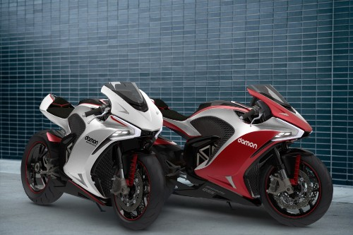 Damon Motors targets Tesla owners with its 200 MPH hyper-safe e-moto