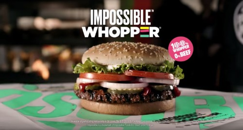 Burger King will roll out the Impossible Burger nationwide by the end of the year – TechCrunch