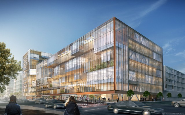 Uber Unveils Design Concept For Its New, 420,000 Square-Foot Headquarters In SF