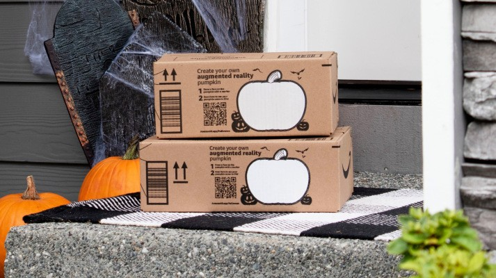 Amazon launches an AR app that works with new QR codes on its boxes