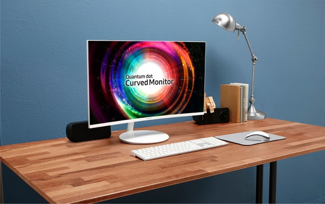 Samsung's new curved monitor coming to CES is somewhat tailored for gamers