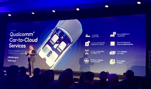 Qualcomm launches a car-to-cloud service for over-the-air updates and telemetrics