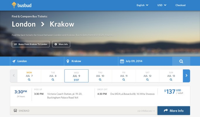 Busbud Bags $9M For Its Coach Travel Booking Platform