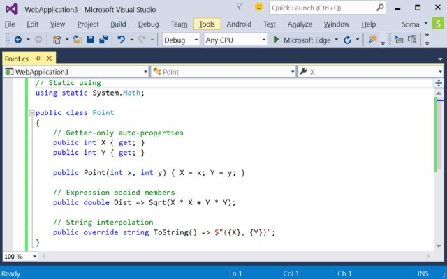 Microsoft Launches Visual Studio 2015