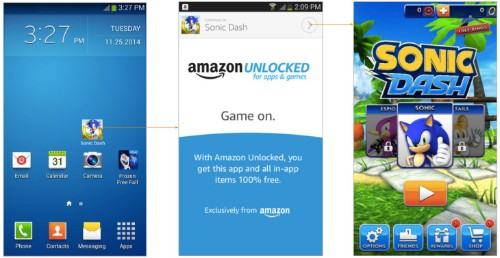 Amazon 'Unlocked' Will Give Away Paid Apps For Free