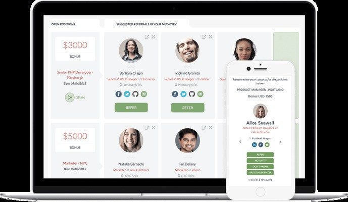 Teamable, the Tinder for hiring, raises $5M and acquires Simppler